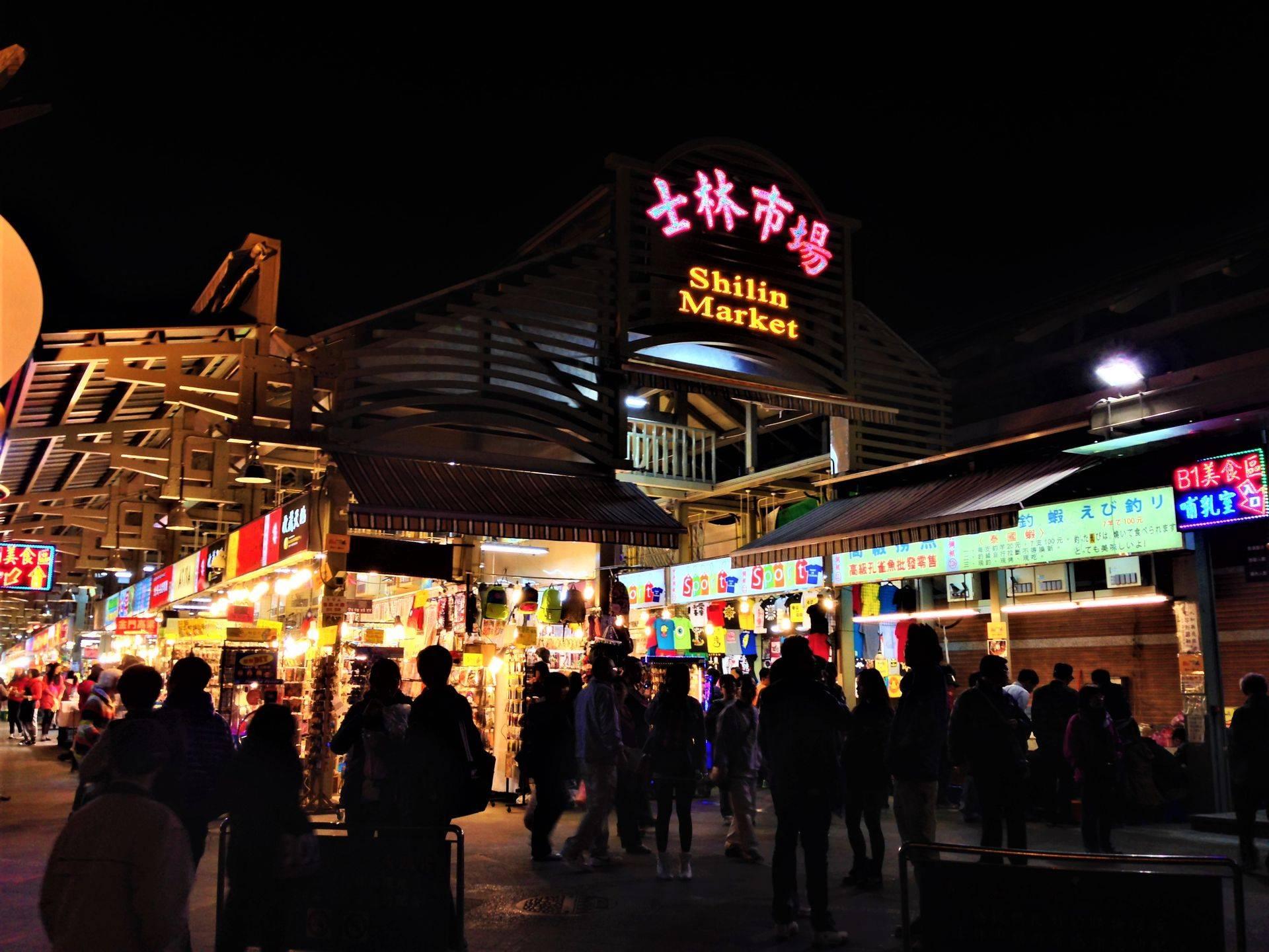 台北住宿-士林夜市