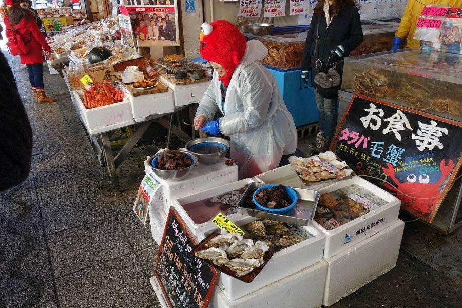 北海道景點_場外市場