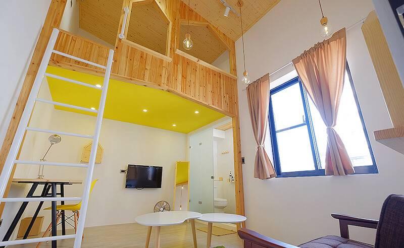 台南主題住宿推薦-台南民宿-Loft.Wo 閣樓設計旅店